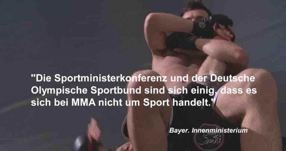 MMA Dokumentation Screenshot