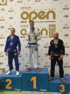 IBJJF Open Berlin 2015 Rapha gold