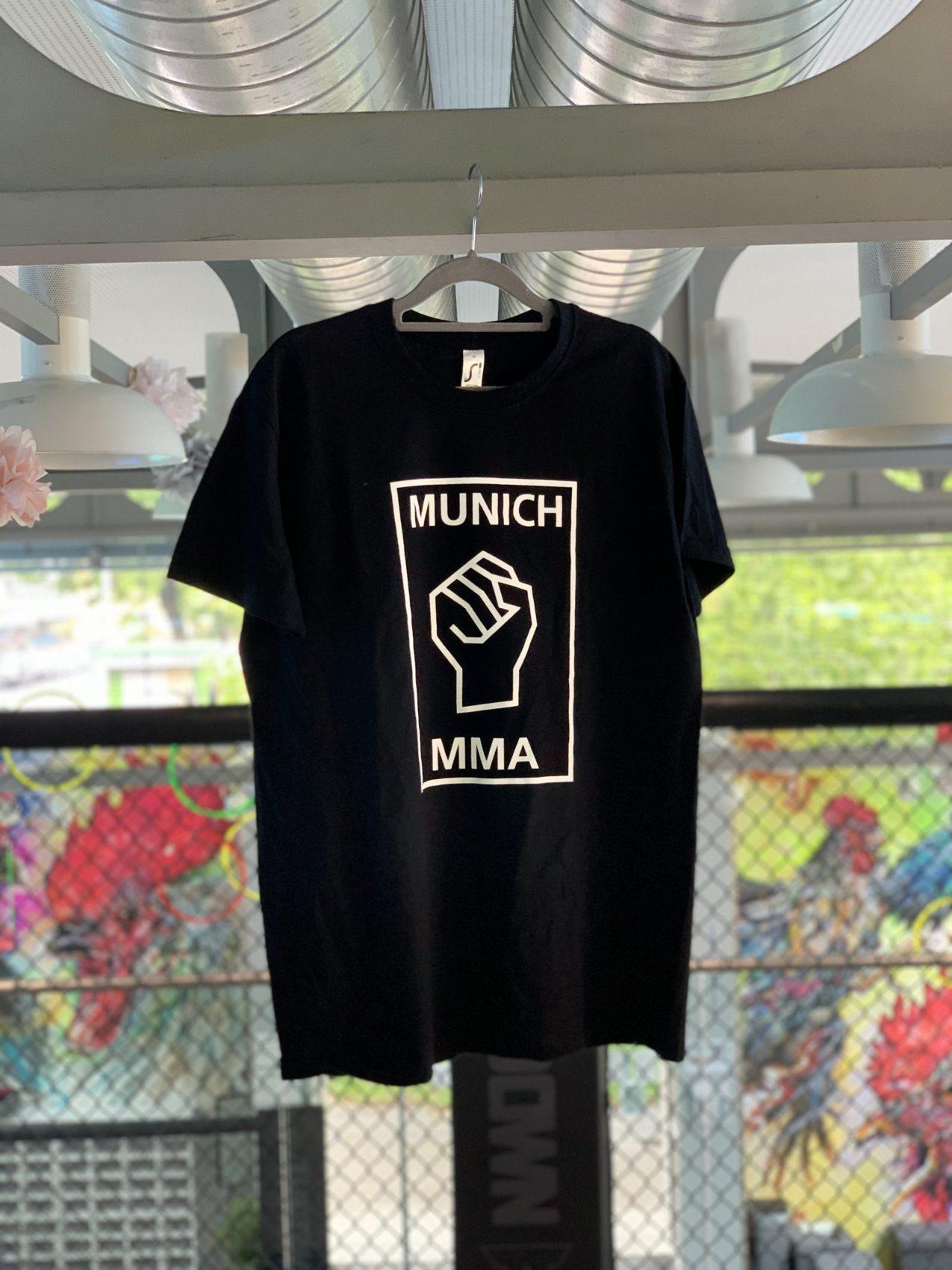 Munich MMA Team T-Shirt Schwarz mit Logo