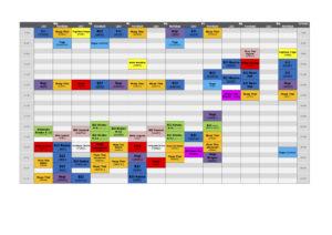 Stundenplan Munich MMA CORONA 5er Gruppen