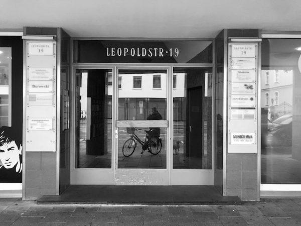 Munich MMA Gym Leopoldstrasse Eingang
