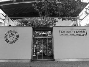 Munich MMA Gym Nordbad Eingang