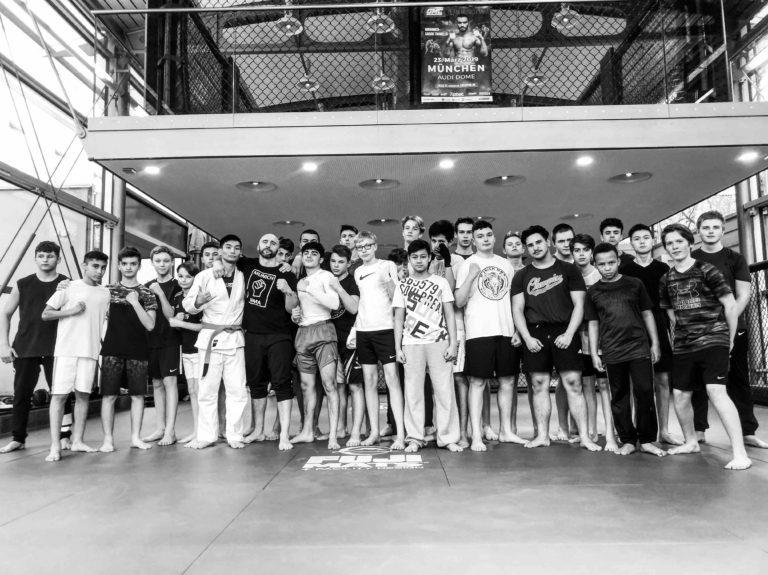 Jugendtraining MMA