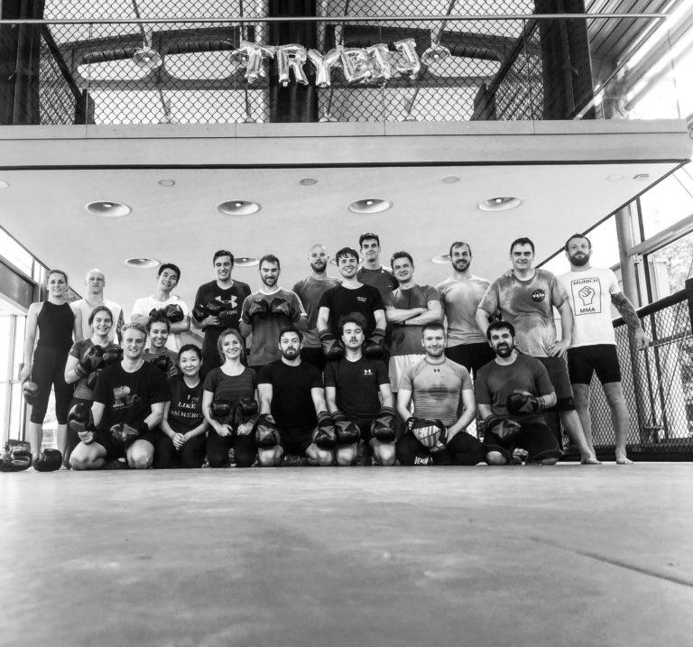 Gruppenfoto Kickboxen Nordbad