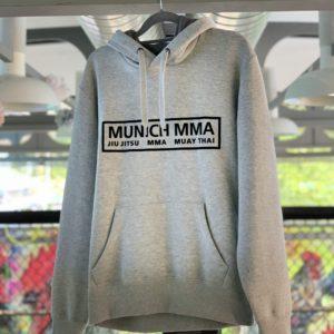 Munich MMA Team Hoodie Grau mit Logo