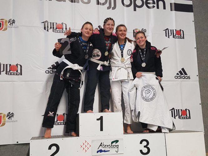 Adidas BJJ Open München Siegertreppchen