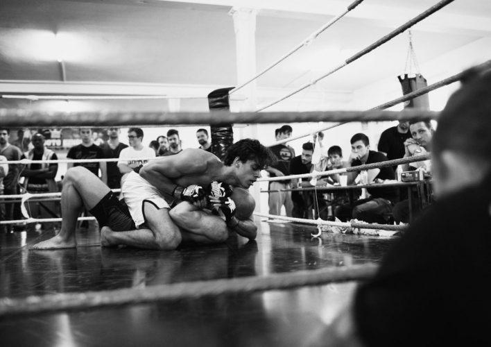 Kampf im Ring