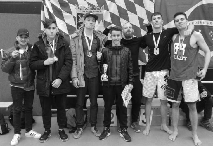 Bayrische BJJ meisterschaft 2016 team Munich MMA
