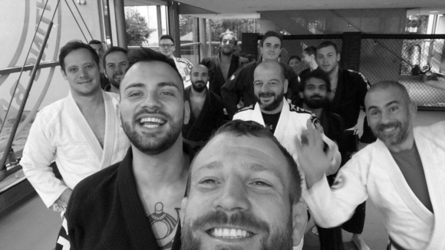Gruppenselfie Munich MMA