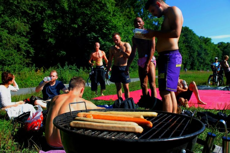 Grapple and Grill an der Isar