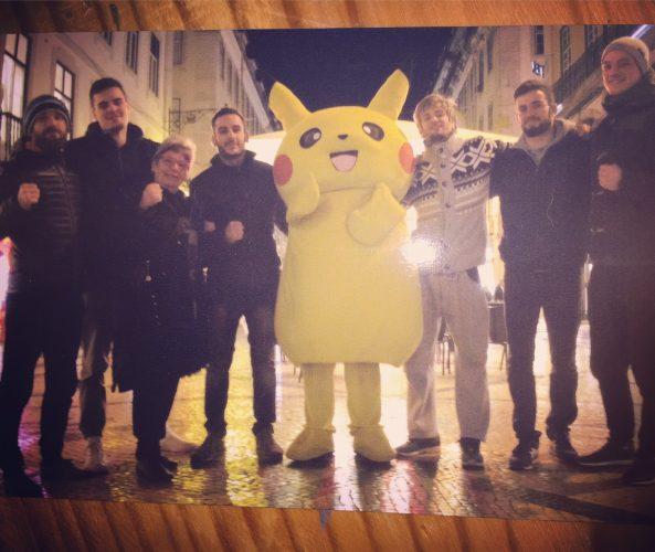 IBBJF Euros 2017 Gruppenbild mit Pikachu