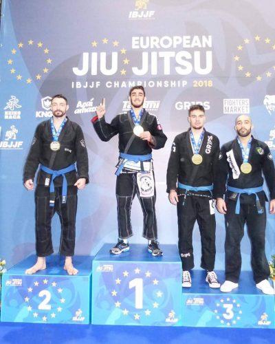 IBJJF European Open Gi Siegertreppchen