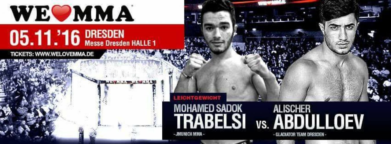we love MMA in Dresden promo